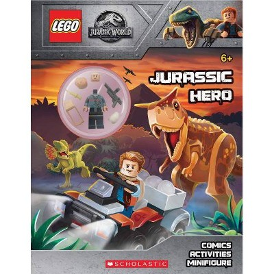 Jurassic Hero (Lego(r) Jurassic World: Activity Book with Minifigure) - (Lego Jurassic World) by  Ameet Studio (Mixed Media Product)