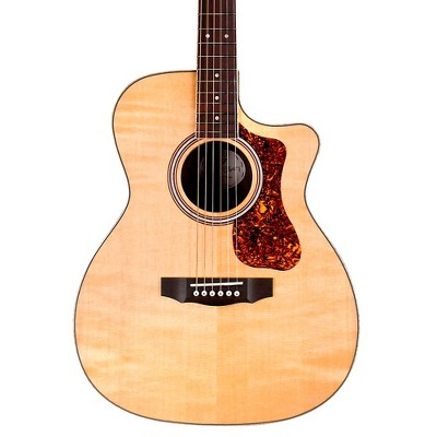 Guild OM-250CE Reserve Orchestra Cutaway Acoustic-Electric Guitar Natural