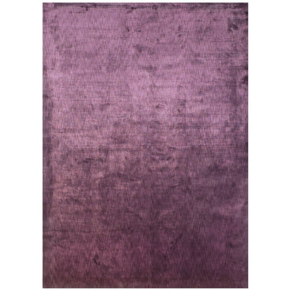 Plum (Purple) Woven Area Rug - (5'6