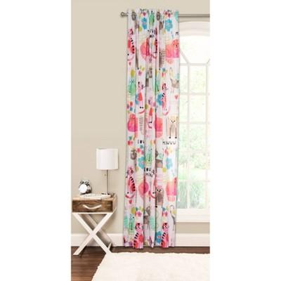 Crayola Purrty Cat Curtain Panel