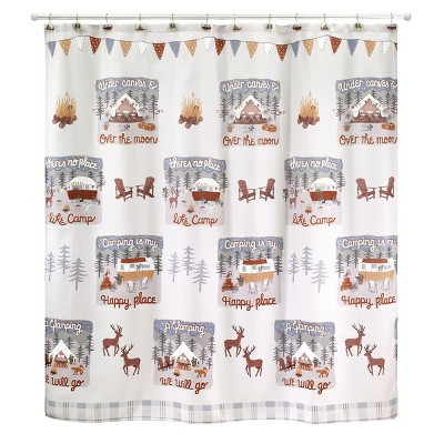 Avanti Gone Glamping Shower Curtain