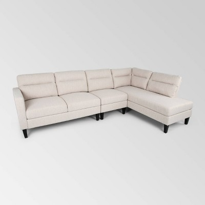 3pc Ledgemere Modern Sectional Sofa and Chaise Set - Christopher Knight Home