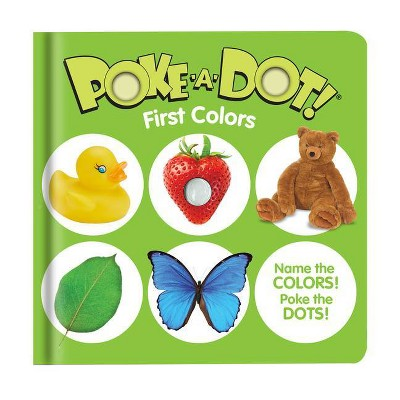 Poke-A-Dot: First Colors - (Board Book)