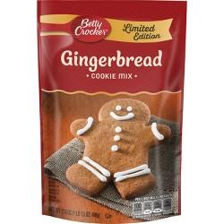 Betty Crocker Gingerbread Cookie Mix - 17.5oz