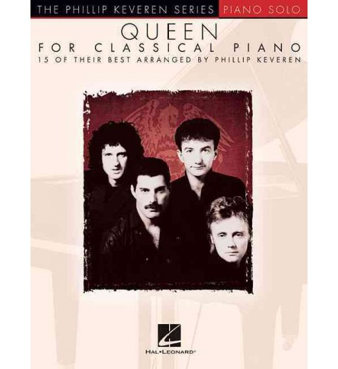 Queen for Classical Piano : Piano Solo (Paperback) - image 1 of 1