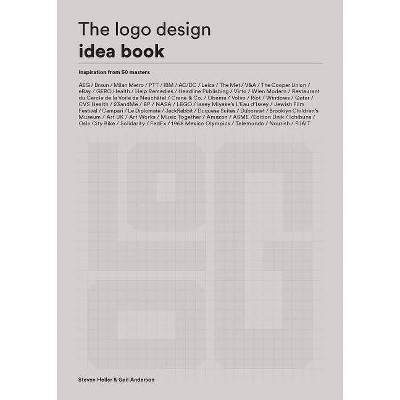The LOGO Design Idea Book - by  Steven Heller & Gail Anderson (Paperback)
