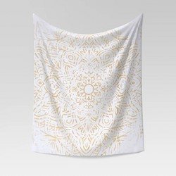 Pattern Printed Tapestry Yellow - Opalhouse™