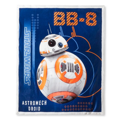 BB8 Throw Blanket - Star Wars® - image 1 of 1