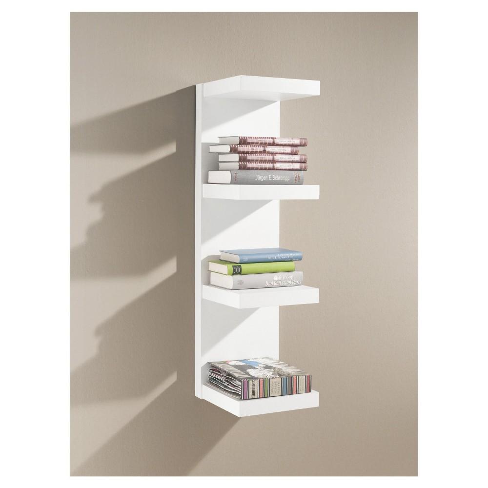 Image of Dolle Domino Floating Shelf - White