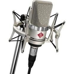 Neumann TLM 102 Studio Set, Includes TLM 102 Microphone, 4 Elastic Suspension Shockmount