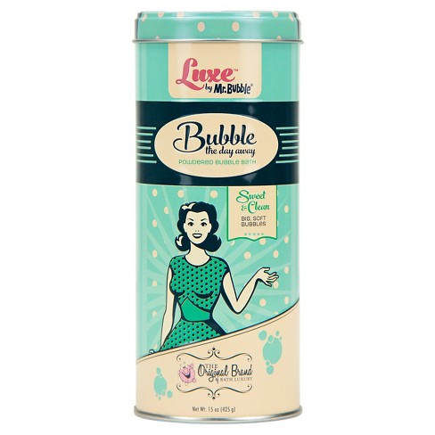 Luxe by Mr. Bubble® Sweet & Clean Bubble the Day Away Powdered Bubble Bath - 15oz - image 1 of 1