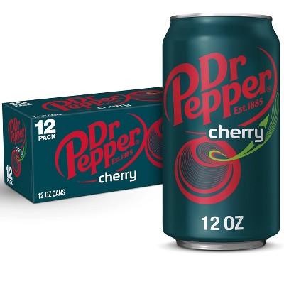 Dr Pepper Cherry Soda - 12pk/12 fl oz Cans