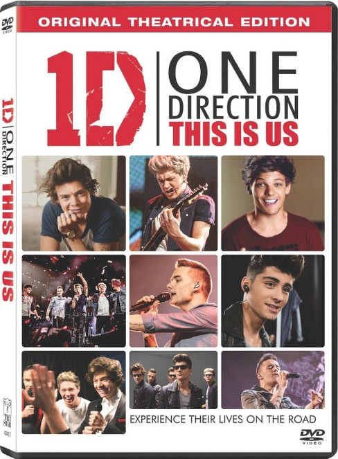 One Direction - This Is Us (DVD) - image 1 of 1