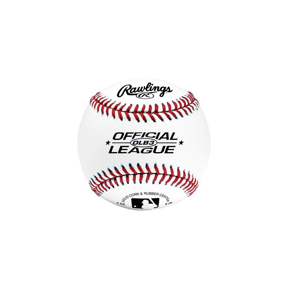 Rawlings MLB Official League Practice Baseball 2pk, Kids Unisex
