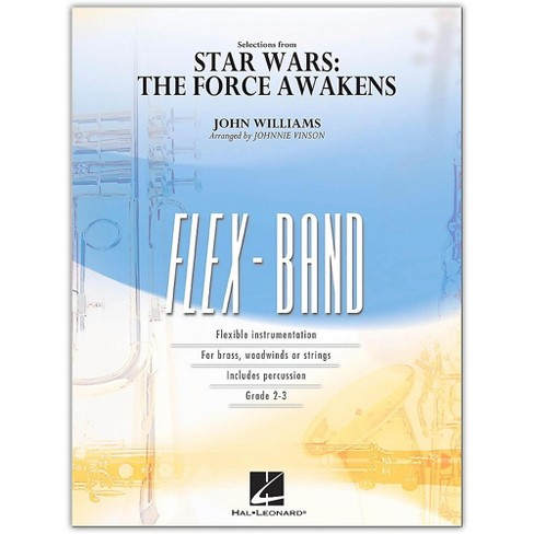 Hal Leonard Selections from Star Wars: The Force Awakens FlexBand Level 2-3 - image 1 of 1