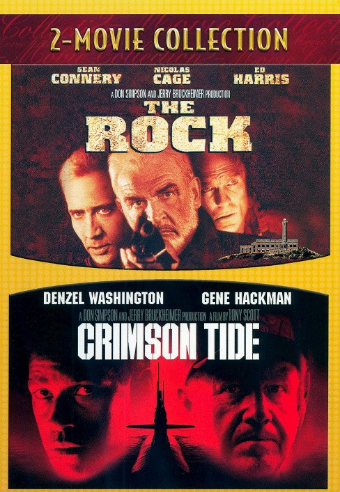 The Rock/Crimson Tide (2 Discs) (dvd_video) - image 1 of 1