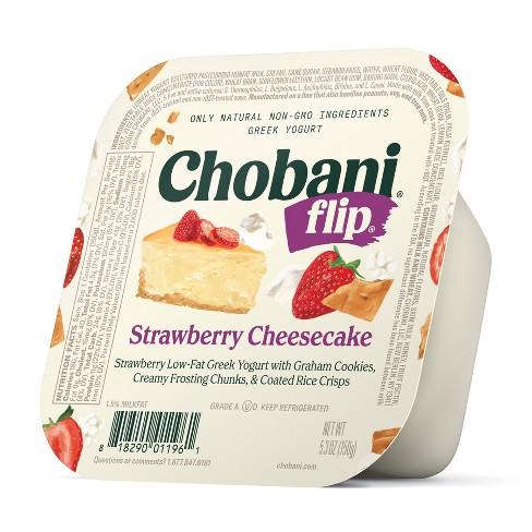 Chobani Flip Strawberry Cheesecake Greek Style Yogurt - 5.3oz - image 1 of 1