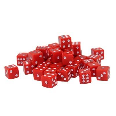 WE Games Square Cornered Dice - 100 Pack