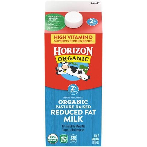 Horizon Organic 2% Milk - 0.5gal - image 1 of 3