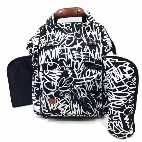 The Physics of HipHop Diaper Bag - Black - image 1 of 4