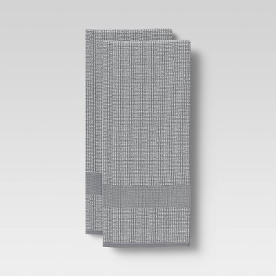 2pk Cotton Waffle Terry Kitchen Towels - Threshold™