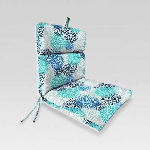 Outdoor French Edge Dining Chair Cushion - Jordan Manufacturing - image 1 of 1