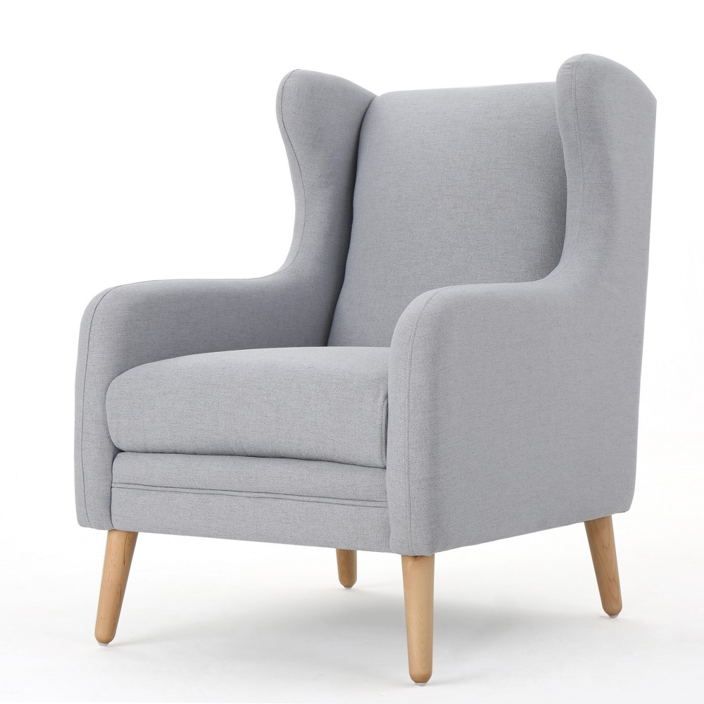 Rosalee Club Chair - Gray - Christopher Knight Home