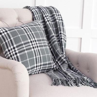 C&F Home Max Plaid Throw Pillow