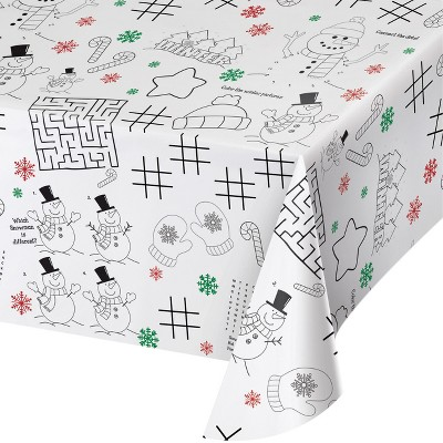 Christmas Activity Tablecloth