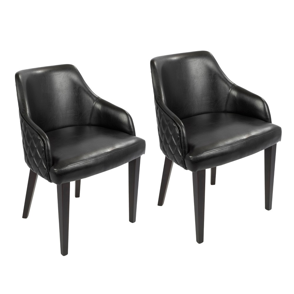 Esteban Contemporary Dining Chair Espresso Black - Lumisource