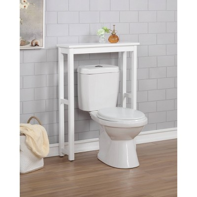 Dorset Over The Toilet Etagere White - Alaterre Furniture