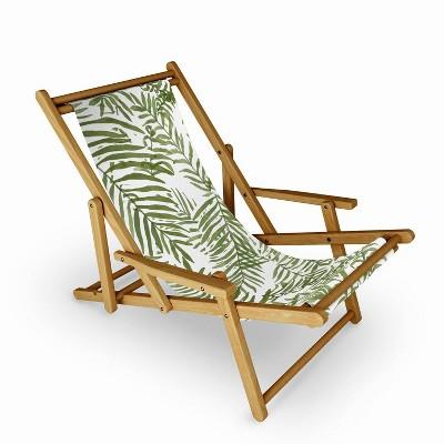 Alja Horvat Areca Palm Pattern Sling Chair - Deny Designs