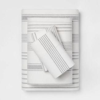Printed Flannel Sheet Set - Threshold™