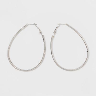 Hoop Earrings - A New Day™ Silver