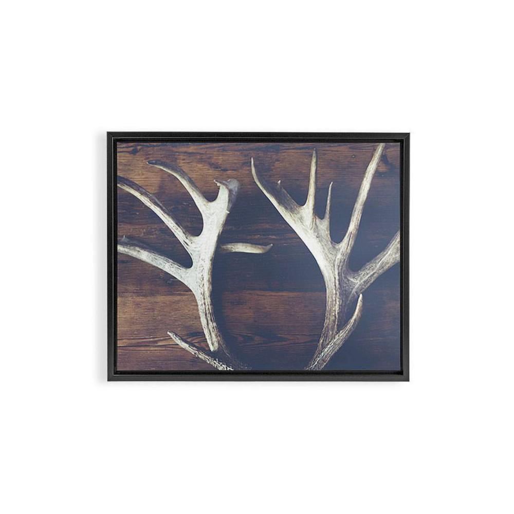 8 34 X 10 34 Ann Hudec Rustic Relic Framed Art Canvas Black Deny Designs