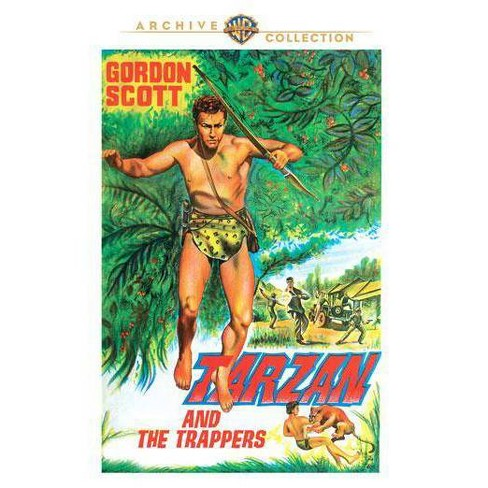 Tarzan And The Trappers (DVD) - image 1 of 1