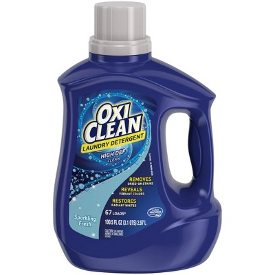 OxiClean Liquid Sparkling Fresh Scent Laundry Detergent - 100.5oz