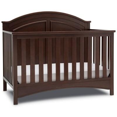 Delta Children Perry 6-in-1 Convertible Crib - Walnut Espresso