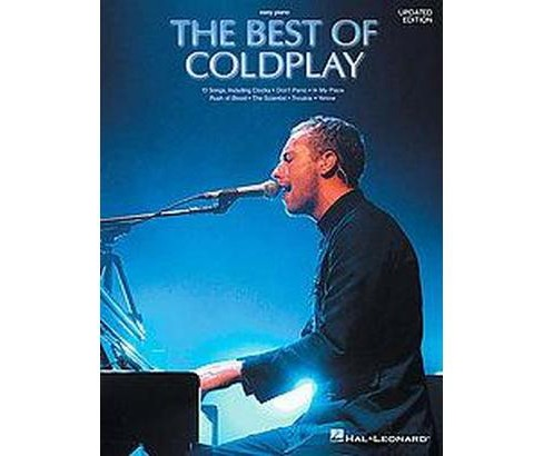 Best of Coldplay for Easy Piano (Paperback) - image 1 of 1