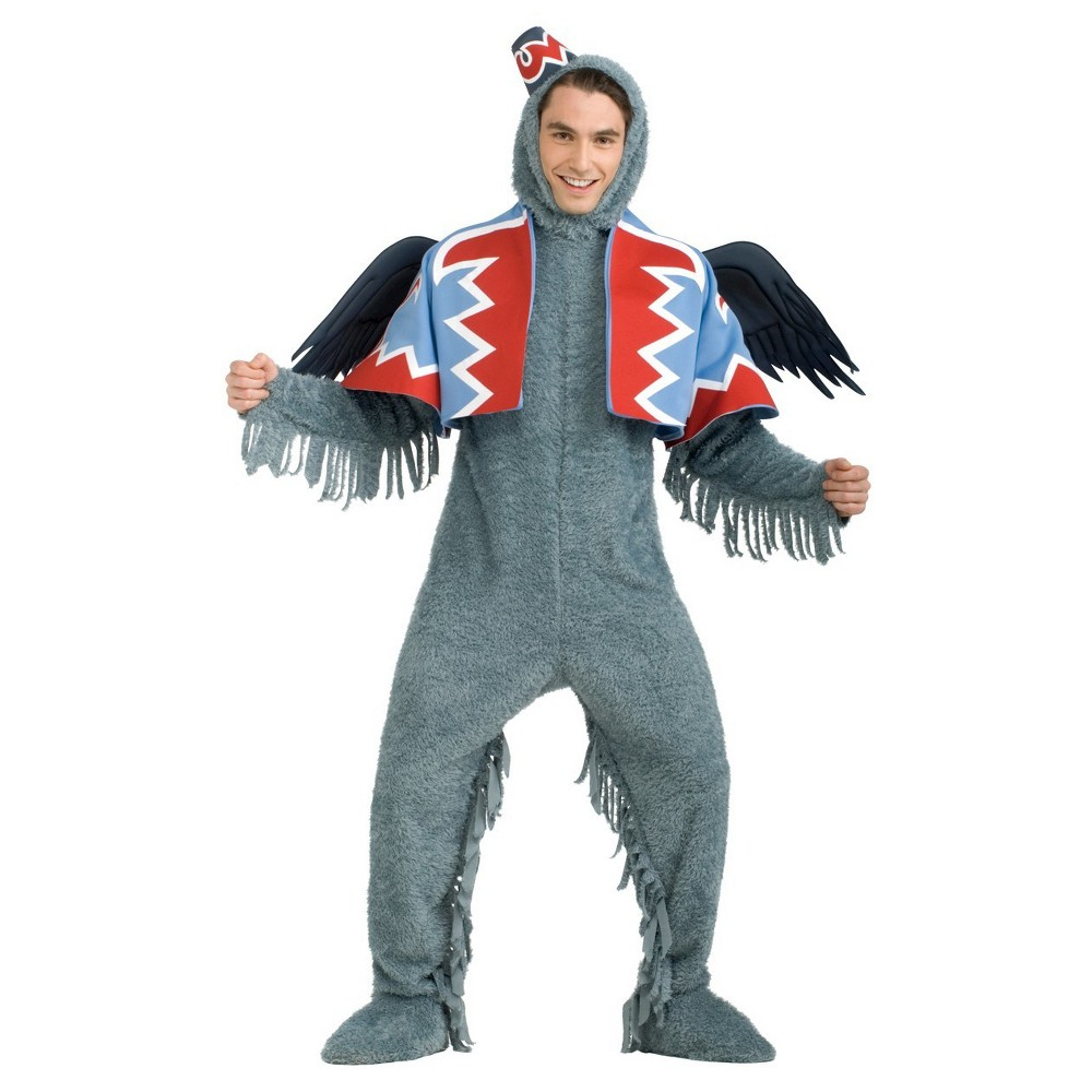 Wizard Of Oz Winged Monkey Adult Costume X-Large, Men's, Size: XL, Multicolored
