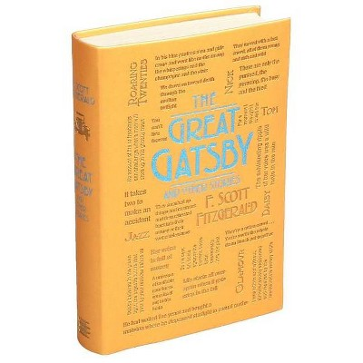 The Great Gatsby and Other Stories - (Word Cloud Classics) by  F Scott Fitzgerald (Paperback)