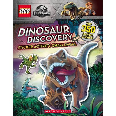 Dinosaur Discovery (Lego Jurassic World: Sticker Activity Book) - by Ameet Studio (Paperback)