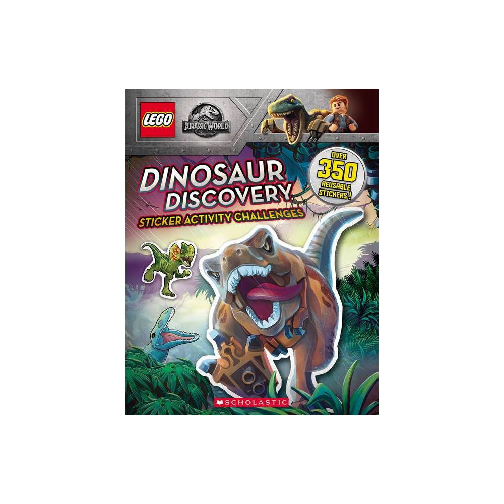 Dinosaur Discovery Lego Jurassic World Sticker Activity Book By Ameet Studio Paperback