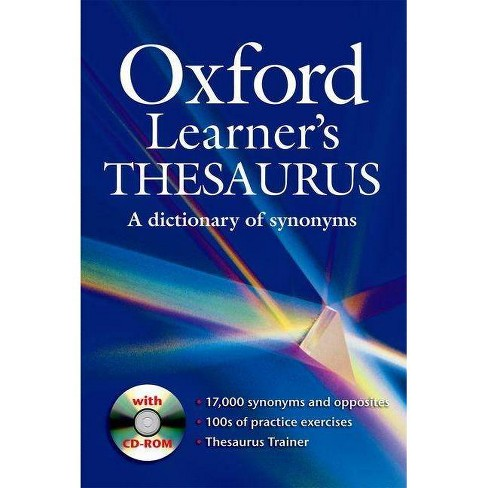 Oxford Learner's Thesaurus - (Mixed media product) - image 1 of 1