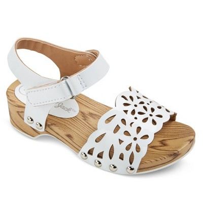 a0d27e31c983 Toddler Girls Vanna Two Piece Wood Wedge Slide Sandals With Chop Outs Cat    Jack™
