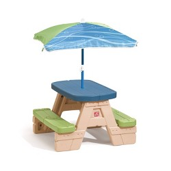 Step2 Sit & Play Junior Picnic Table with Umbrella