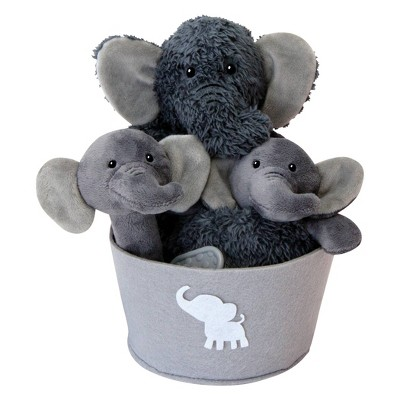 Trend Lab Plush Gift Set - Elephant 4pc