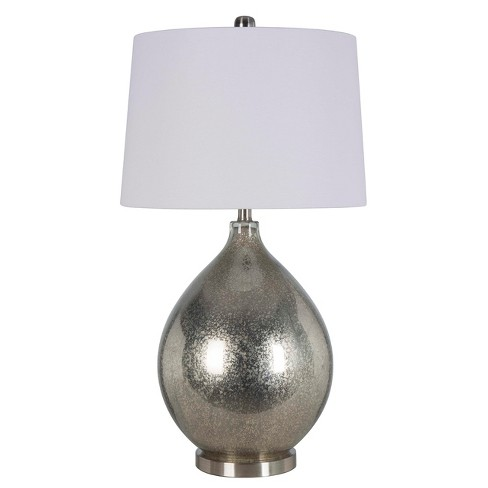 Mercury Glass Statement Table Lamp Includes Energy Efficient Light