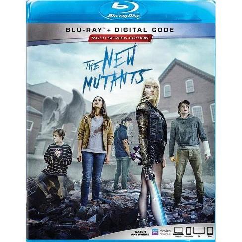 The New Mutants Blu Ray Digital Target