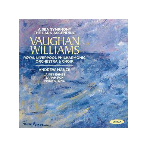 Royal Liverpool Philharmonic Orchestra - Vaughan Williams: A Sea Symphony/The Lark Ascending (CD) - image 1 of 1